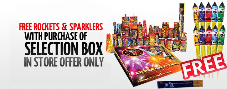 Firework Selection Boxes